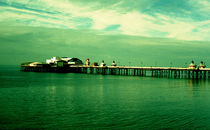 Vintage pier by Giorgio Giussani