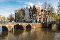 Amsterdam - Herrenhäuser an der Keizersgracht von Thomas Seethaler