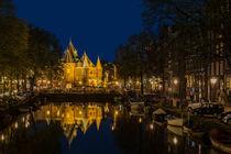 Amsterdam - Nieuwmarkt von Thomas Seethaler