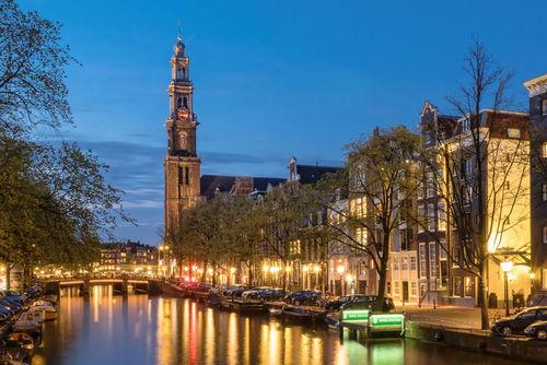 Amsterdam-westerkerk-mit-prinsengracht