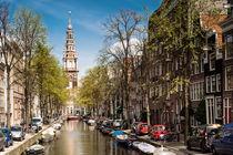 Amsterdam - Zuiderkerk am Groenburgwal von Thomas Seethaler