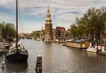 Amsterdam - Oudeschans-Montelsbaanstoren von Thomas Seethaler
