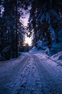Winter Road by Simon Kirchmair