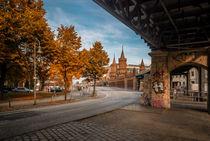 Berlin. Oberbaumbrücke. von Thomas Seethaler