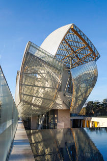 Louis Vuitton Foundation building von Perry  van Munster