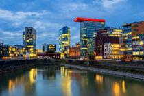 Medienhafen Düsseldorf. von Thomas Seethaler