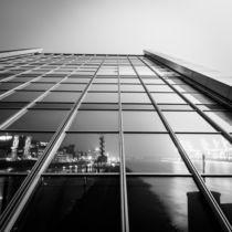 Hamburg Habour @Dockland (bw) (Sascha Mueller) by Sascha Mueller