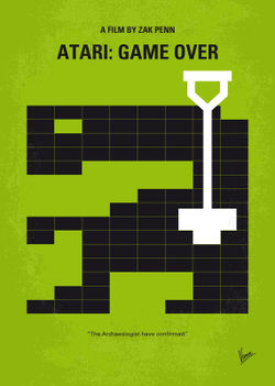 No582-my-atari-game-over-minimal-movie-poster