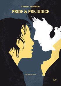 No584 My Pride and Prejudice minimal movie poster von chungkong