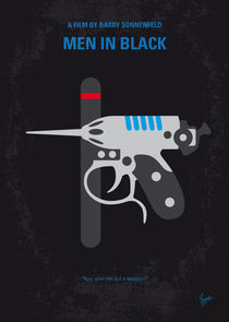 No586 My Men in Black minimal movie poster by chungkong