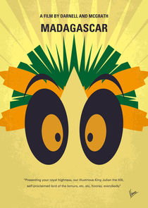 No589 My Madagascar minimal movie poster by chungkong