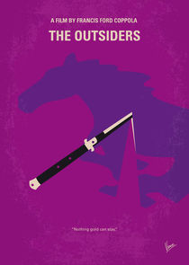 No590 My The Outsiders minimal movie poster von chungkong