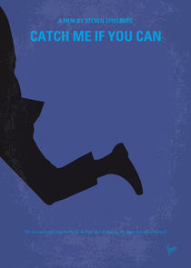 No592 My Catch Me If You Can minimal movie poster von chungkong