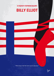 No597 My Billy Elliot minimal movie poster von chungkong