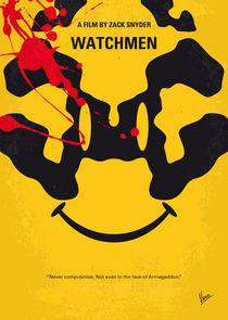 No599 My watchmen minimal movie poster von chungkong
