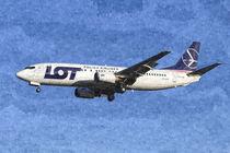 Lot Boeing 737 Art von David Pyatt