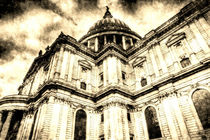 St Paul's Cathedral London Vintage von David Pyatt