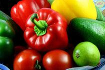 Bunter Gemüsekorb von lizcollet
