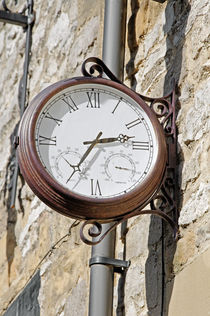 Double Sided Station Clock, Bakewell von Rod Johnson