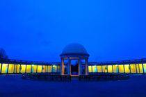 Eaton Park Pavilion at Dusk, Norwich, England von Vincent J. Newman