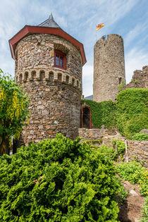 Burg Thurant - Rundturm 2 von Erhard Hess