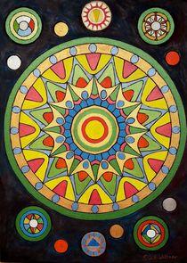 Mandala  von G.Elisabeth Willner