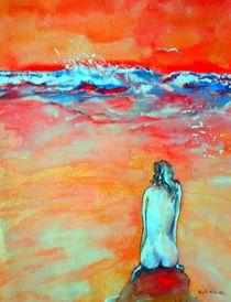 Abend am Meer by Eberhard Schmidt-Dranske