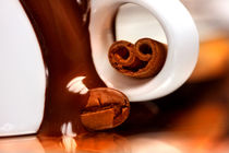 Chocolate, Coffee and Cinnamon | Cup of Little Pleasures von lizcollet