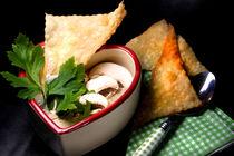 Pilzsuppe mit Strudelblatt von lizcollet
