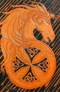 CELTIC HORSE by Ron Moses