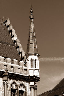 Neues Rathaus München | Turmspitzen II von lizcollet