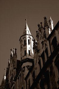 Neues Rathaus München | Turmspitzen III von lizcollet