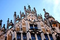 Neues Rathaus München | Turmspitzen mit Wächter II von lizcollet