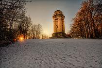 Bismarckturm snow by Tim Lee