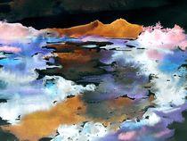 Landschaft abstrakt by Eberhard Schmidt-Dranske
