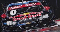 Stock Car red Bull von Minocom Art Gallery