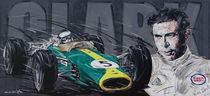 F1 Jim Clark Lotus von Minocom Art Gallery