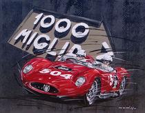 Mille Miglia Maserati von Minocom Art Gallery
