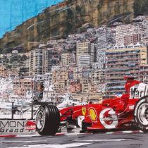 Monte Carlo Ferrari by Minocom Art Gallery