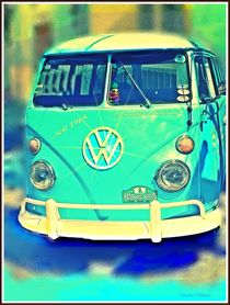 ~Series Cars VW Bus~ by Sandra  Vollmann