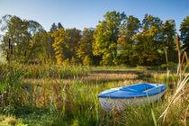 Teich im Herbst von Heidi Bücker