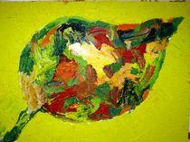 Herbstblatt von Isabella Stöllner
