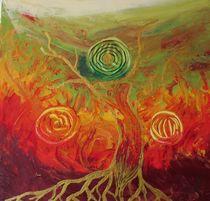 Baum, herbst von Isabella Stöllner