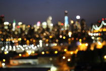 New York Night Sphere by Hartmut Veld