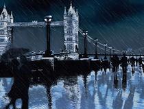 Tower Bridge London von sylvia scotting
