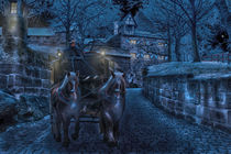 Horse and carrige  by sylvia scotting