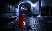 Lady in red von sylvia scotting