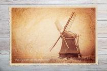 Wasserschöpfmühle in Neustadtgödens | Friesland von sven-fuchs-fotografie