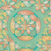 Tropical color abstract von Gaspar Avila