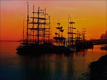 Tall ships by sylvia scotting
